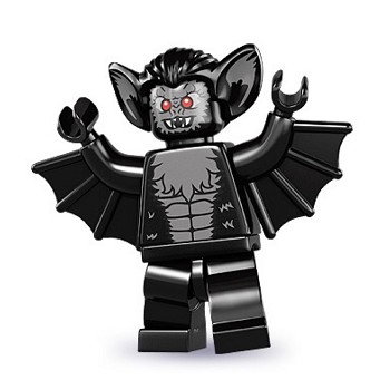 LEGO Collectible Minifigures: 8833 Series 8 Vampire Bat NEW
