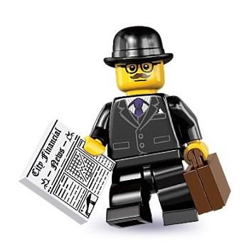 LEGO Collectible Minifigures: 8833 Series 8 Businessman NEW