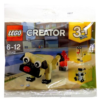 LEGO Creator Sets: 30542 Cute Pug NEW