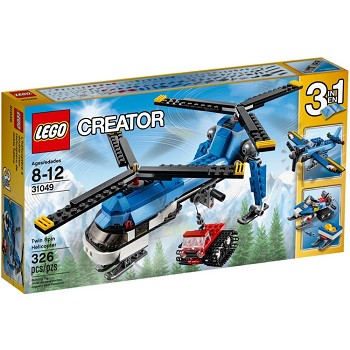 LEGO Creator Sets: 31049 Dual Rotor Helicopter NEW