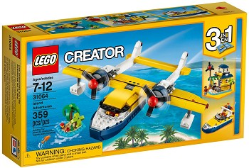 LEGO Creator Sets: 31064 Seaplane Adventures NEW