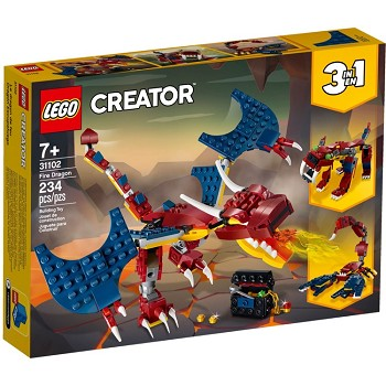 LEGO Creator Sets: 31102 Fire Dragon NEW