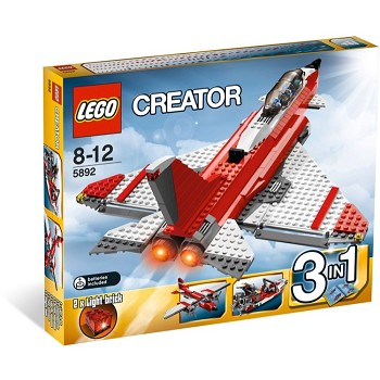 LEGO Creator Sets: 5892 Sonic Boom NEW