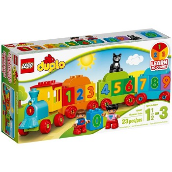 LEGO DUPLO Sets: 10847 My First Number Train NEW