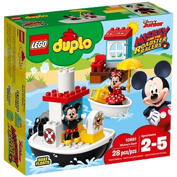 LEGO DUPLO Sets: 10881 Mickey's Boat NEW
