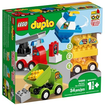 LEGO DUPLO Sets: 10886 My First Car Creations NEW