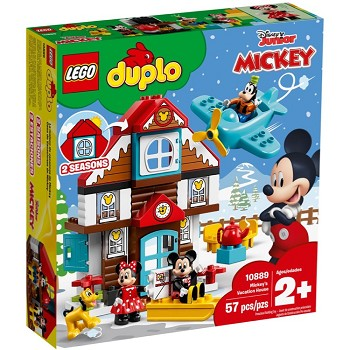 LEGO DUPLO Sets: 10889 Mickey's Vacation House NEW