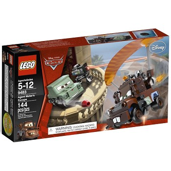 LEGO Disney Cars Sets: 9483 Agent Mater's Escape NEW