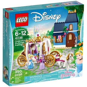 LEGO Disney Princess Sets: 41146 Cinderella's Enchanted Evening NEW