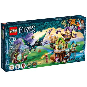LEGO Elves Sets: 41196 The Elvenstar Tree Bat Attack NEW