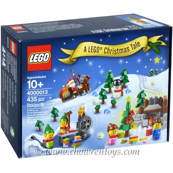 LEGO Exclusives Sets: Employee Gift 4000013 A LEGO Christmas Tale NEW