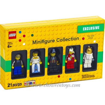 "LEGO Exclusives Sets: 5002147 Toys""R""Us Promotional Vintage Minifigure Collection 2013 Vol. 2 NEW"