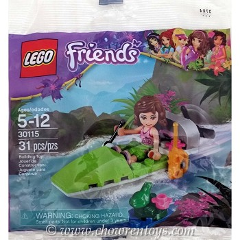 LEGO Friends Sets: 30115 Jungle Boat NEW
