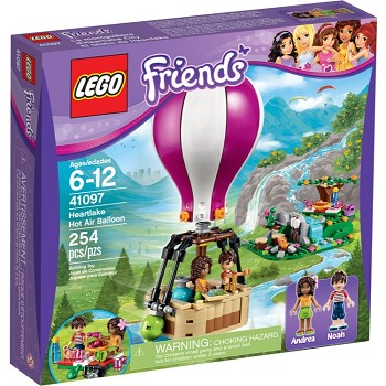 LEGO Friends Sets: 41097 Heartlake Hot Air Balloon NEW