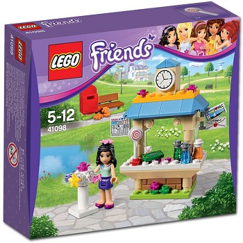 LEGO Friends Sets: 41098 Emma's Tourist Kiosk NEW *Damaged Box*