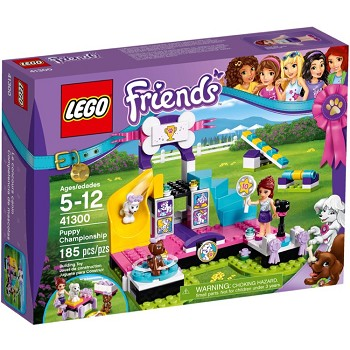 LEGO Friends Sets: 41300 Puppy Championship NEW  *Rough Shape*