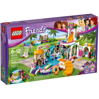 LEGO Friends Sets: 41313 Heartlake Summer Pool NEW