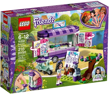 LEGO Friends Sets: 41332 Emma's Art Stand NEW
