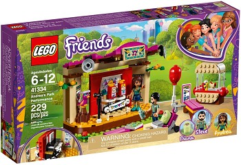 LEGO Friends Sets: 41334 Andrea's Park Performance NEW
