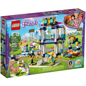 LEGO Friends Sets: 41338 Stephanie's Sports Arena NEW *Rough Shape*
