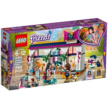 LEGO Friends Sets: 41344 Andrea's Accessories Store NEW