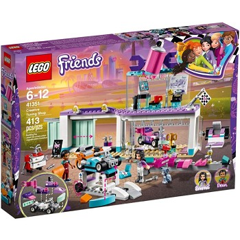 LEGO Friends Sets: 41351 Creative Tuning Shop NEW