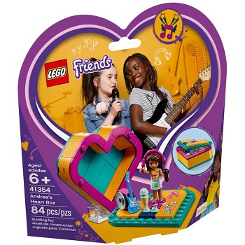 LEGO Friends Sets: 41354 Andrea's Heart Box NEW