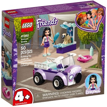 LEGO Friends Sets: 41360 Emma's Mobile Veterinary Clinic  NEW
