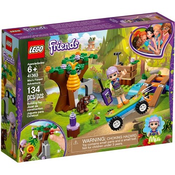 LEGO Friends Sets: 41363 Mia's Forest Adventures NEW *Damaged Box*