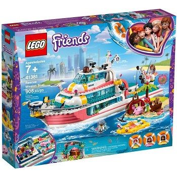 LEGO Friends Sets: 41381 Rescue Mission Boat NEW