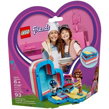 LEGO Friends Sets: 41387 Olivia's Summer Heart Box NEW