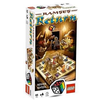 LEGO Games Sets: 3855 Ramses Return NEW