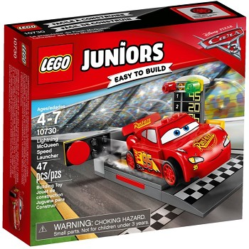 LEGO Juniors Sets: 10730 Lightning McQueen Speed Launcher NEW *Damaged Box*