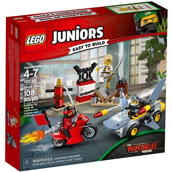 LEGO Juniors Sets: 10739 Shark Attack NEW