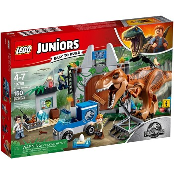 LEGO Juniors Sets: 10758 T. Rex Breakout NEW