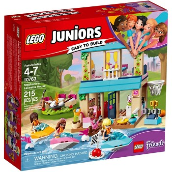 LEGO Juniors Sets: 10763 Stephanie's Lakeside House NEW