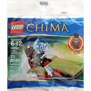 LEGO Legends of Chima Sets: 30252 Crug's Swamp Jet NEW