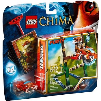 LEGO Legends of Chima Sets: 70111 Swamp Jump NEW