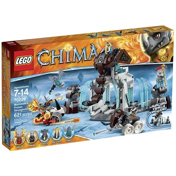 LEGO Legends of Chima Sets: 70226 Mammoth's Frozen Stronghold NEW