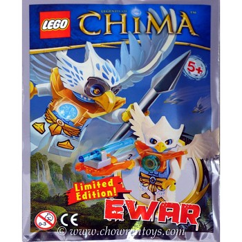 LEGO Legends of Chima Sets: LOC113 Ewar Minifigure NEW