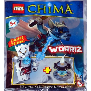 LEGO Legends of Chima Sets: LOC391404 Worriz Minifigure NEW