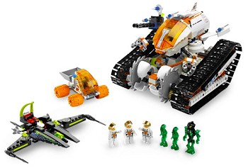 LEGO Mars Mission Sets: 7645 MT-61 Crystal Reaper NEW