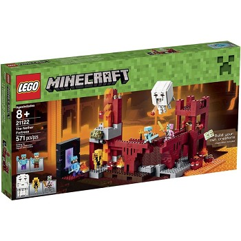 LEGO Minecraft Sets: 21122 The Nether Fortress NEW