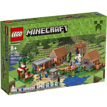 LEGO Minecraft Sets: 21128 The Village NEW *Rough Shape*
