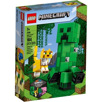 LEGO Minecraft Sets: 21156 BigFig Creeper and Ocelot NEW