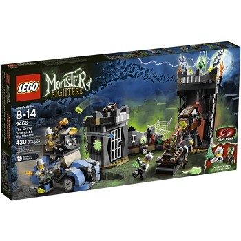 LEGO Monster Fighters Sets: 9466 The Crazy Scientist & His Monster NEW