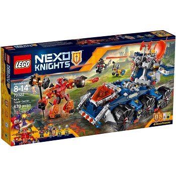 LEGO Nexo Knights Sets: 70322 Axl's Tower Carrier NEW