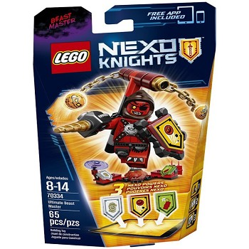 LEGO Nexo Knights Sets: 70334 Ultimate Beast Master NEW