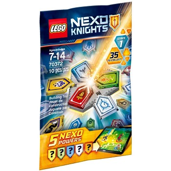 LEGO Nexo Knights Sets: 70372 Combo NEXO Powers Wave 1 NEW