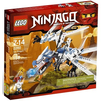 LEGO Ninjago Sets: 2260 Ice Dragon Attack NEW